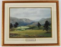 Glen Eagles Scotland Golf Print
