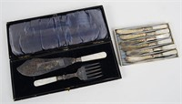 Fish Knife & Fork and Dessert Knives