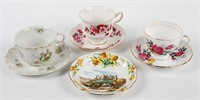 Cup and Saucer Lot