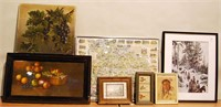 Paintings & Print Lot