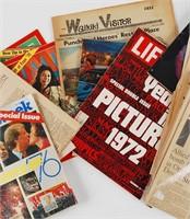 Vintage Newspaper & Magazine Lot