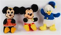 Mickey, Minnie & Donald Duck