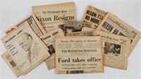 Vintage Newspaper Lot
