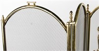 Fireplace Screen & Tools