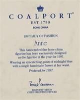 Coalport Figurine Anne