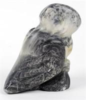 Soap Stone Snowy Owl & Babies