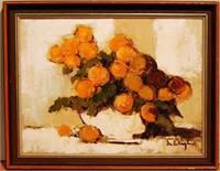 Still Life by Listed Canadian Artist Helen De Sila