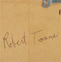 Robert Toane Signed Photo