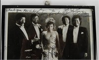 Platters Signed Photo & Herb Reed