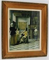 Framed Print Dutch 16th c Scene
