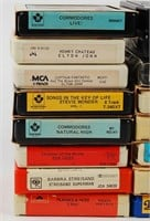 Eight Track Tape Lot