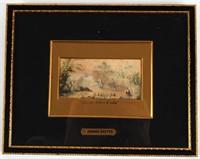 "George Baxter ""Chalees Satoon E. India Print"""