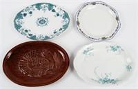 Vintage Serving Platter Lot