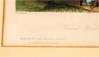 Important W.H. Bartlett Historic Print