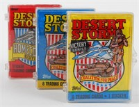 Desert Storm Trading Cards Lot