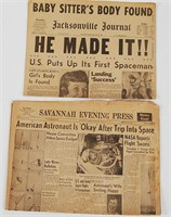 Vintage Newspaper Lot