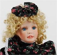 Designer Porcelain Doll