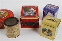 Vintage Tin Lot