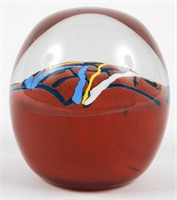 Paperweight Signed Simon Chappel