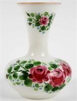 Rainbow Vase Hand Painted