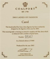 Coalport Figurine Carol