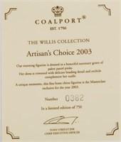 Coalport Figurine Artisans Choice