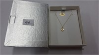 14 KT. YELLOW GOLD BABY NECKLACE RETAIL $150.00