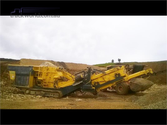 2015 Keestrack R3 Destroyer 1011 Heavy Machinery for Sale