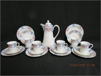 Nippon Cocoa set for 6 with the tea plates