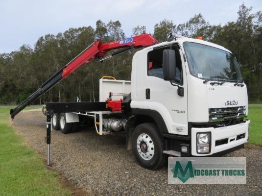 2019 Isuzu FVZ 260 300 LWB Midcoast Trucks - Trucks for Sale