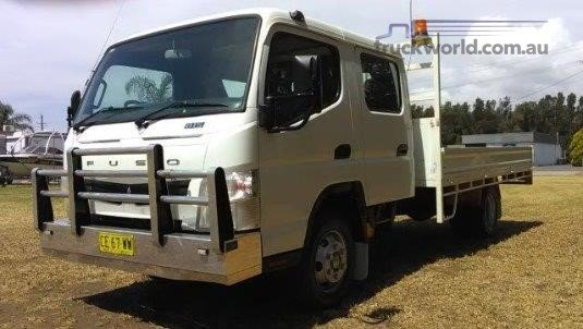 2015 Fuso Canter 815 Wide Crew Cab Trucks for Sale