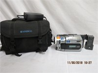Sony digital handycam, charger and carrying case