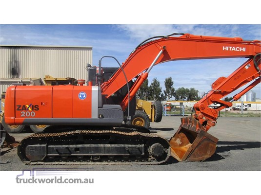 2006 Hitachi ZX200-3 - Heavy Machinery for Sale