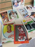 Huge Lot of Hockey and Baseball Cards