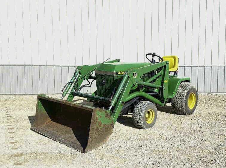 John Deere 430 Garden Tractor | Wisconsin Tractor