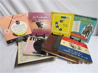 Collection of 45 and 78 rpm  Classical , Folk,