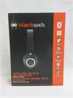 BLACKWEB Bluetooth Stereo Headphones
