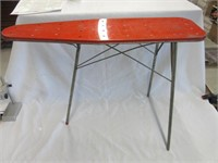Retro Metal Children Toy Ironing Board and Iron
