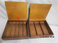 2 Strommen Bruk Hamar sewing boxes