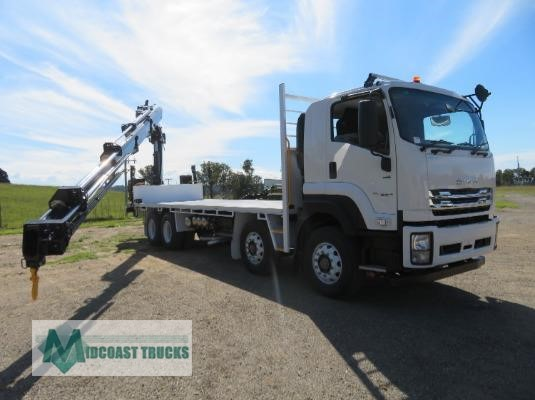 2019 Isuzu FYJ 300-350 Auto Xlwb Midcoast Trucks - Trucks for Sale