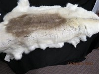Animal fur hide rug new 52 L and 48 across
