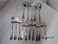 15 pieces Sterling Silver flatware