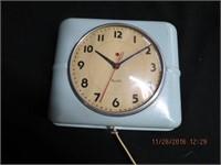 Mid century Westclox wall clock