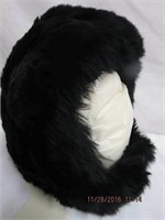 Lambskin helmet