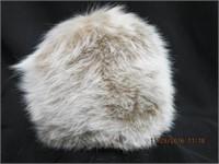 Dyed fox hat