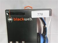 BLACKWEB Premium Series Over the Ear Headphones