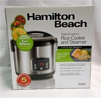 Hamilton Beach Rice Cooker/Steamer