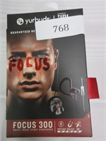 YURBUDS Focus 300 Sweat Proof Sport Earphones