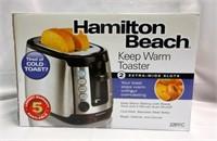 Hamilton Beach Dual Slot Stainless Steel Toaster