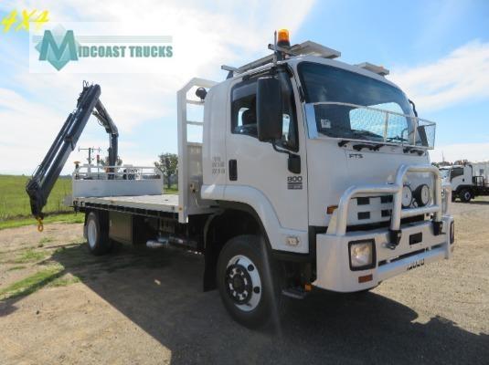 2009 Isuzu FTS 800 4x4 Midcoast Trucks - Trucks for Sale